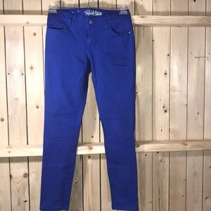 Old Navy Rock Star Jeans bright Blue 8